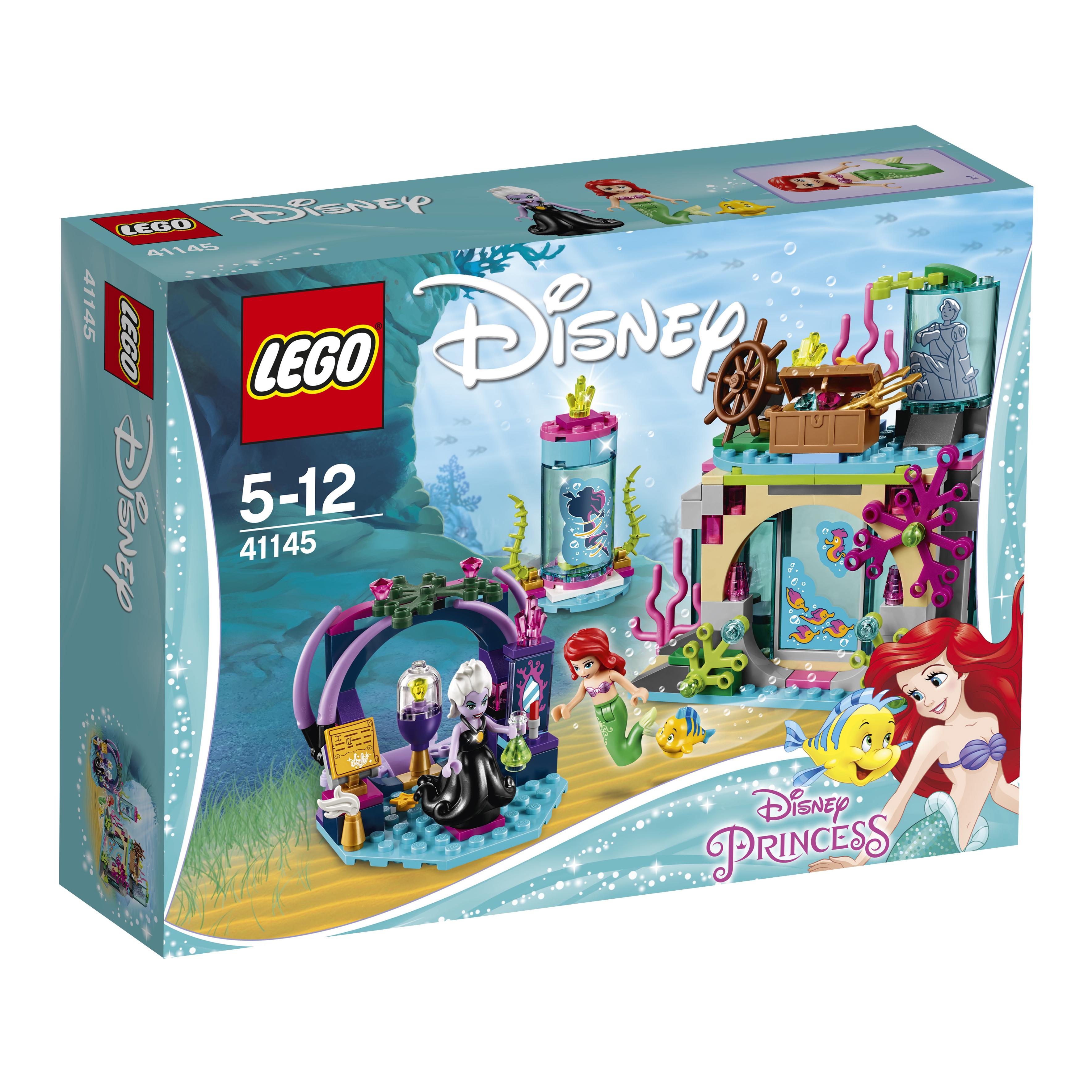 LEGO  Конструктор  Disney Princess 41145 Ариэль  магическое заклятье