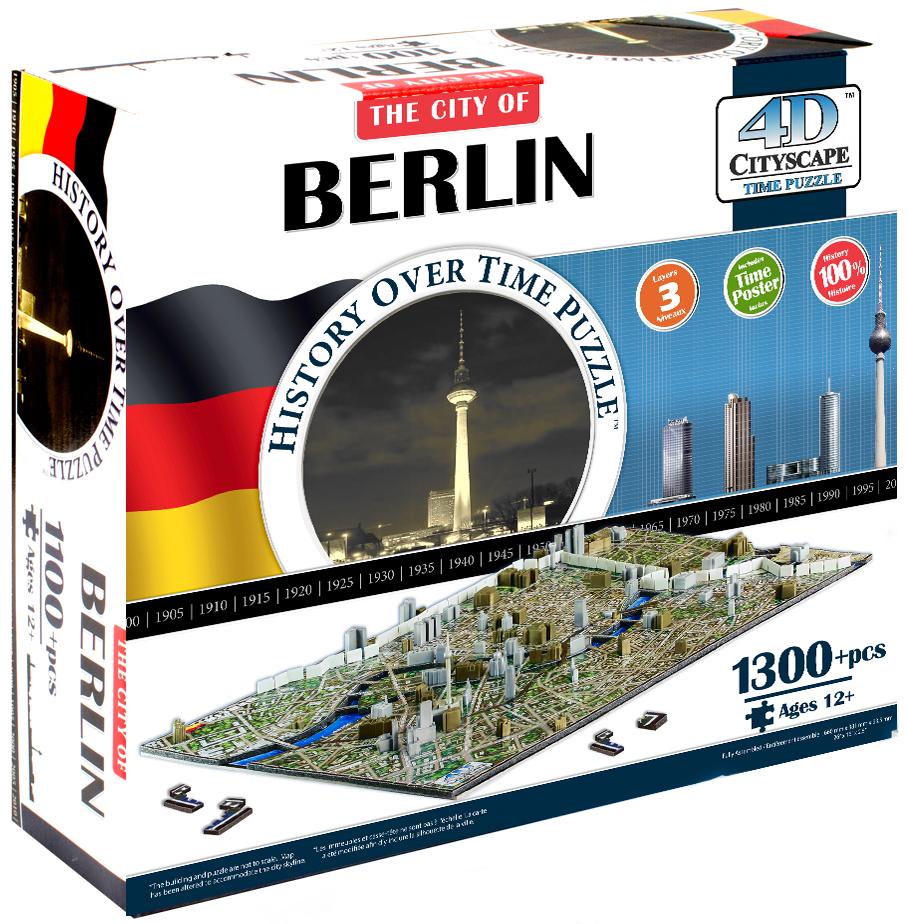 4D Cityscape Берлин 1300 дет. объемный bts берлин