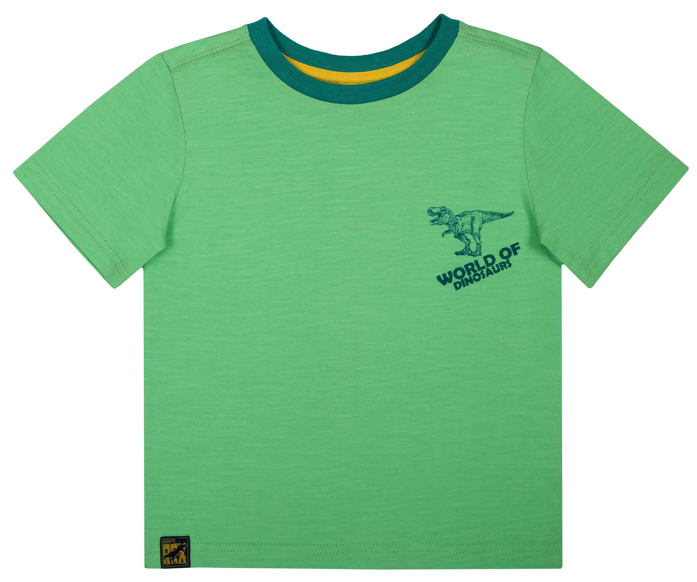 Фото - Футболка с коротким рукавом Barkito Динозавры футболки barkito футболка с коротким рукавом для мальчика barkito механика 1 синяя с рисунком в полоску