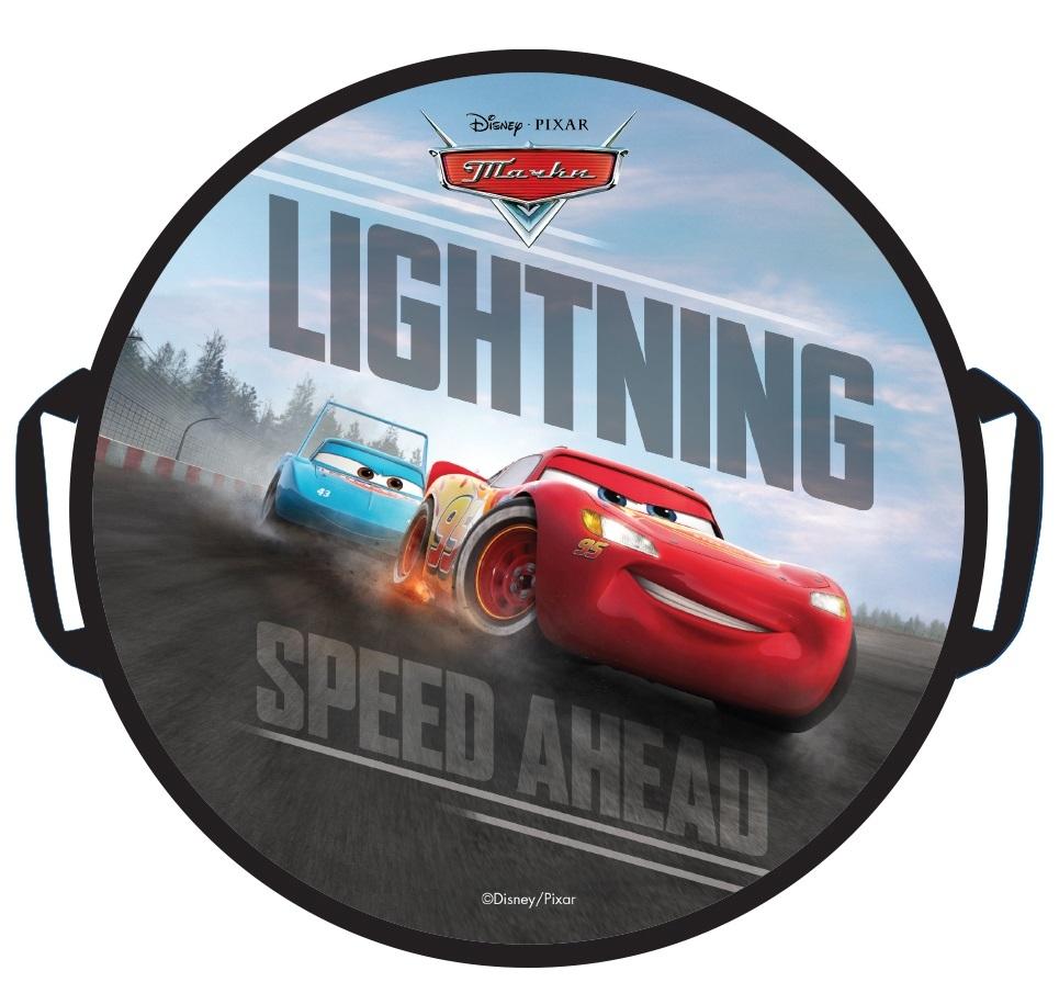 Ледянки Disney Ледянка Disney «Тачки» круглая 52 см ароматизатор автомобильный disney тачки лучший из лучших волна свежести 7 6 х 8 6 см