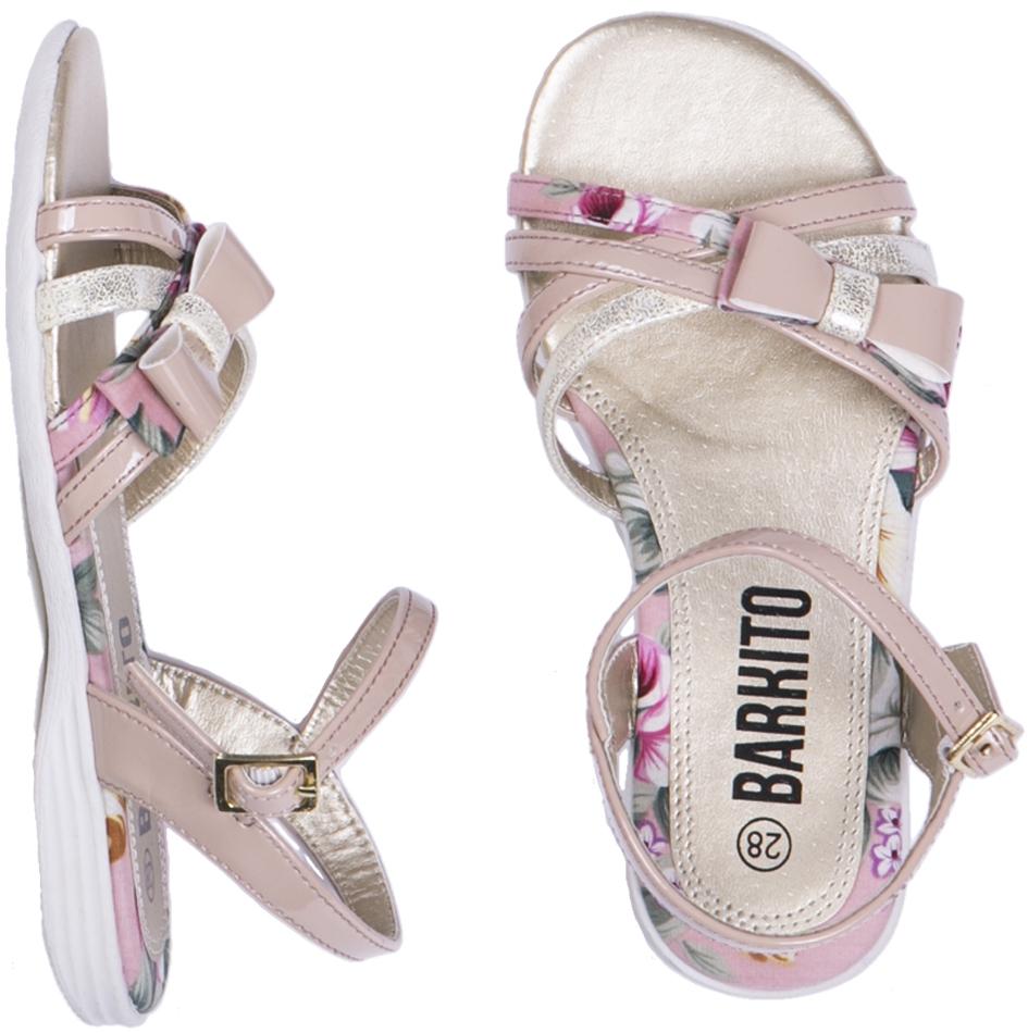 Босоножки Barkito Туфли летние для девочки Barkito кремовый цены онлайн