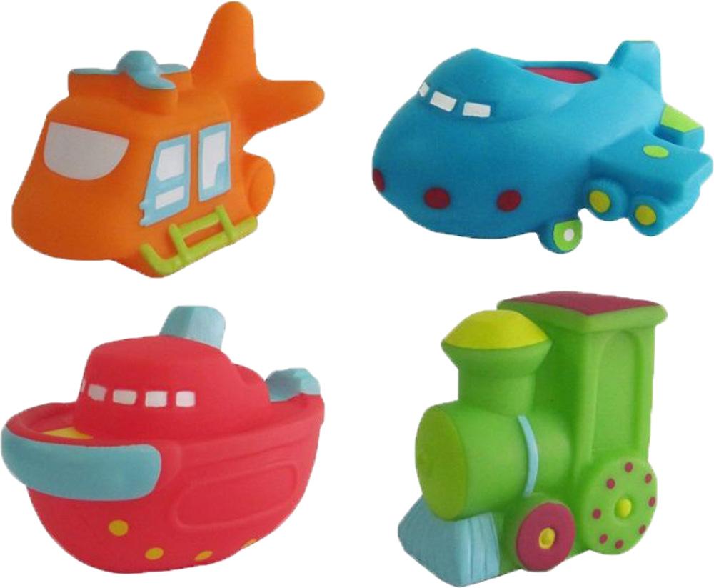 Игрушки для ванны ПОМА Транспорт 2 игрушки для ванны пома кубики учим буквы