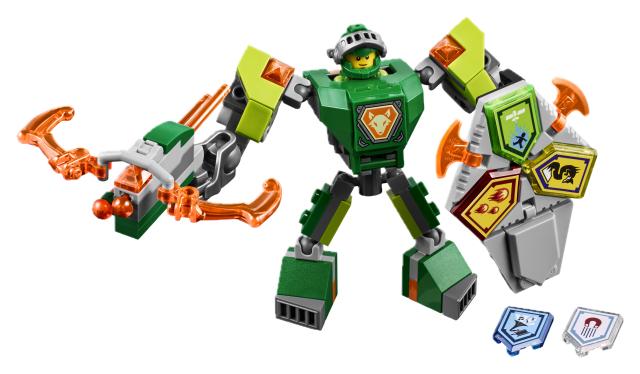 Конструктор LEGO Nexo Knights 70364 Боевые доспехи Аарона lepin nexo knights the fortrex combination marvel building blocks kits toys compatible legoe nexus
