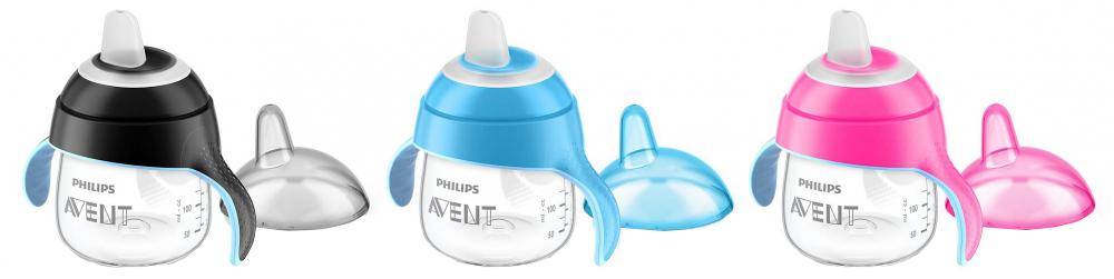 Чашка Philips SCF751/00 сменный силиконовый носик avent черный 6 2 шт для scf751 00