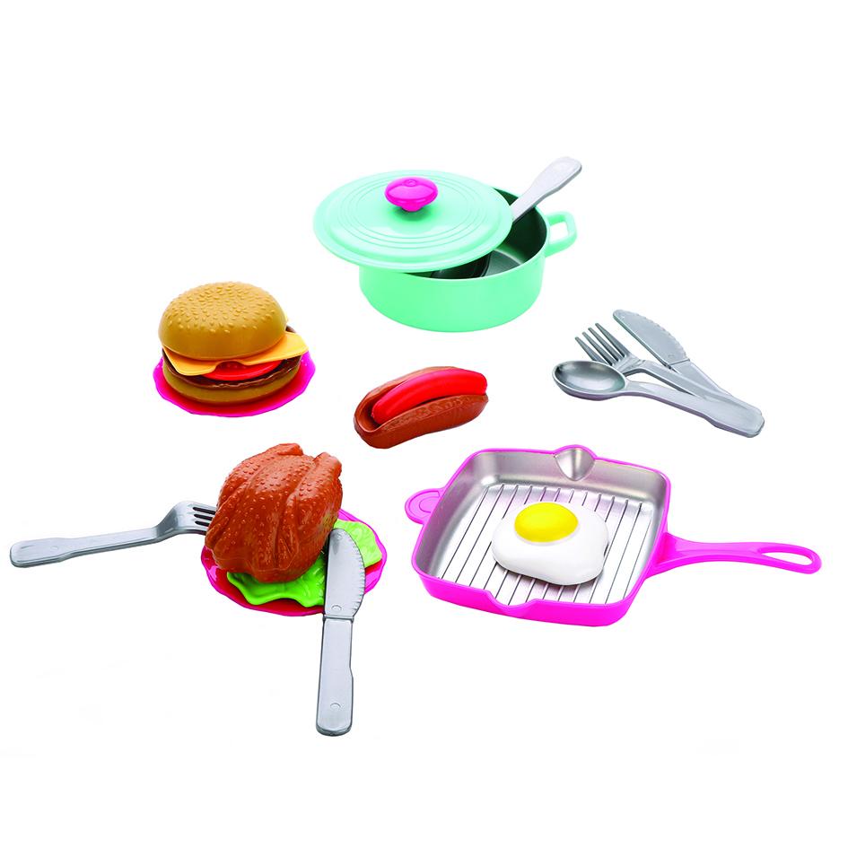 Игровой набор посуды и продуктов Mary Poppins 21 предмет игровой набор miles страус мерк 1 предмет 86104