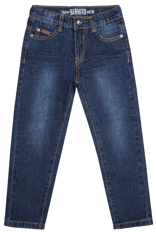 Джинсы для мальчика Barkito Синие брюки для мальчика barkito джинсы деним синие