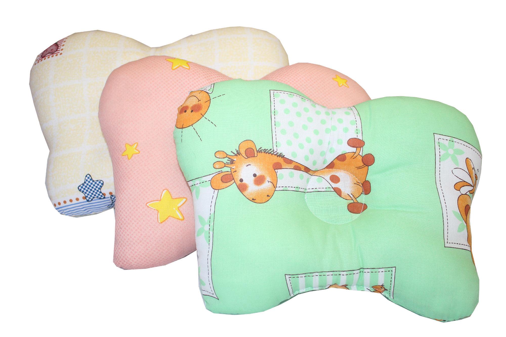 цена Покрывала, подушки, одеяла для малышей Монис Стиль Подушка анатомическая Бабочка онлайн в 2017 году