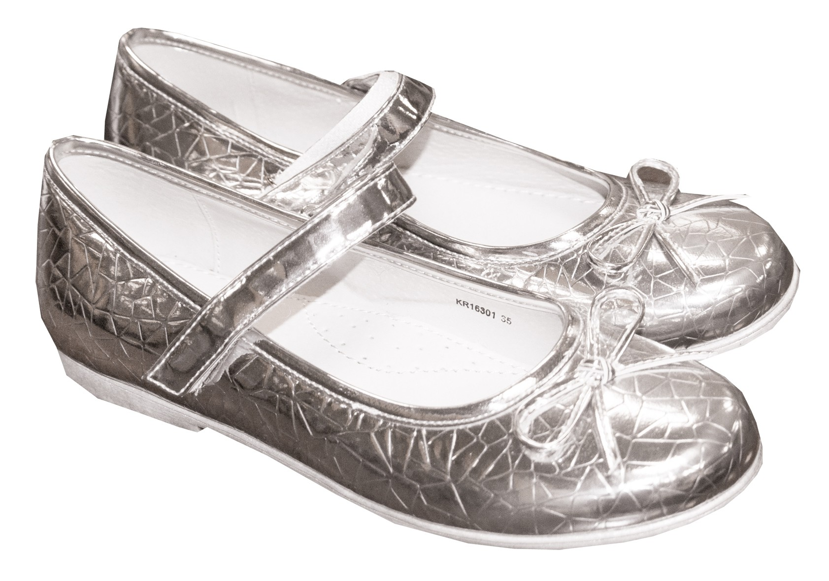 Туфли Barkito Туфли для девочки Barkito, серебристые туфли acoola для девочки цвет серебряный