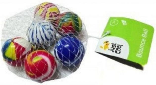 Купить Игрушки-антистресс, Игровой набор Just Cool «Мячики-попрыгунчики» 6 шт., Китай