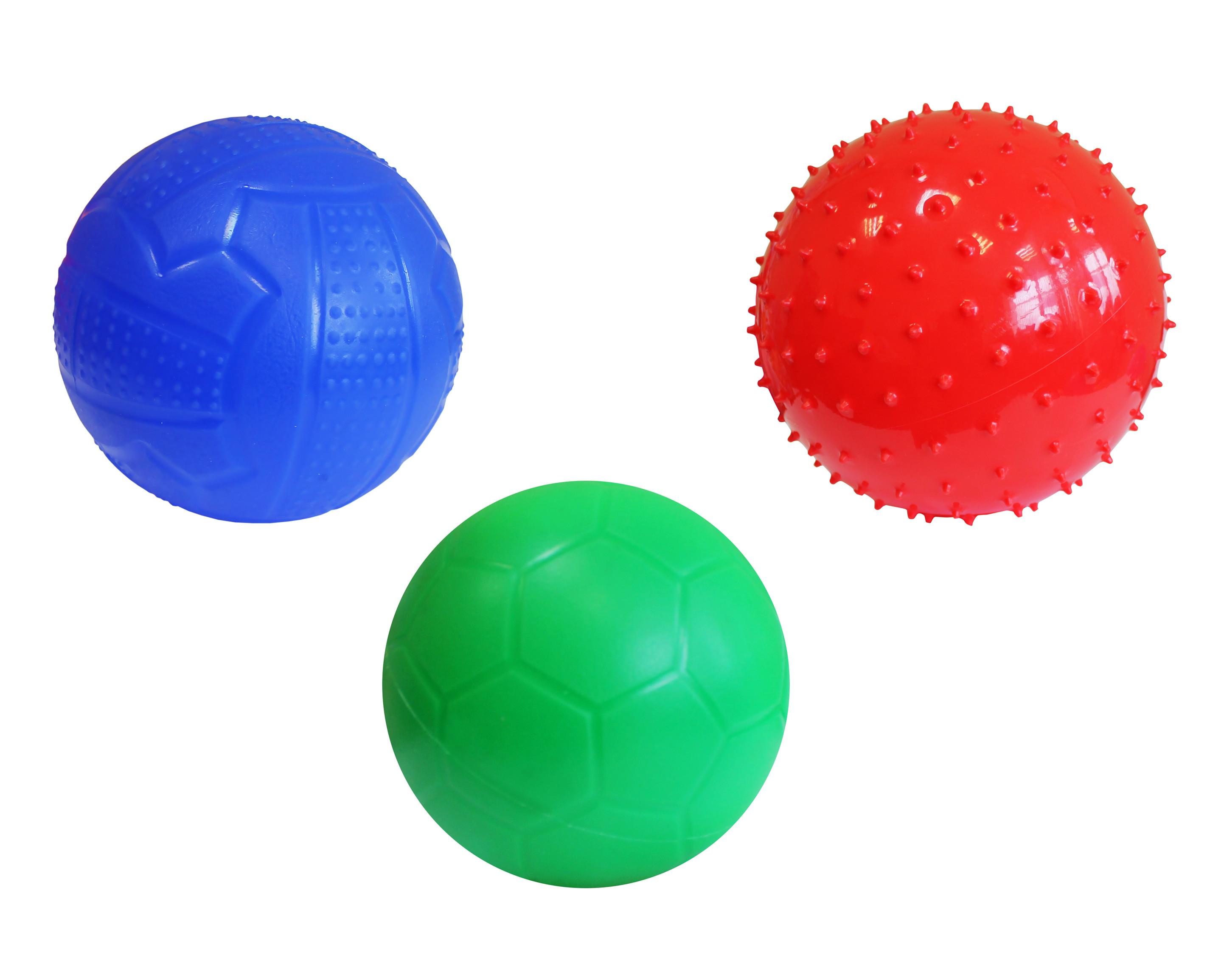 Мячи Пластмастер Мяч «Классик» Пластмастер d160 мм в асс. заглушка оцинкованная d160 мм