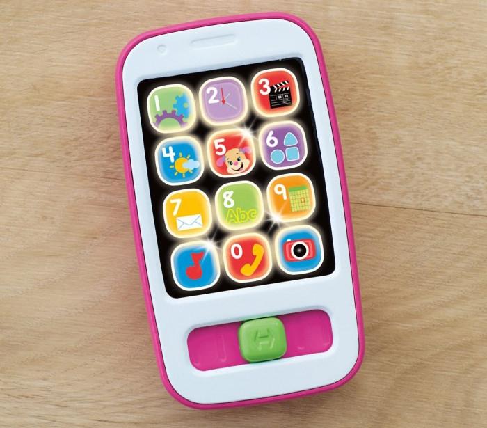 Купить Развивающие игрушки, Умный телефон: Смейся и учись, Fisher Price, Китай, white