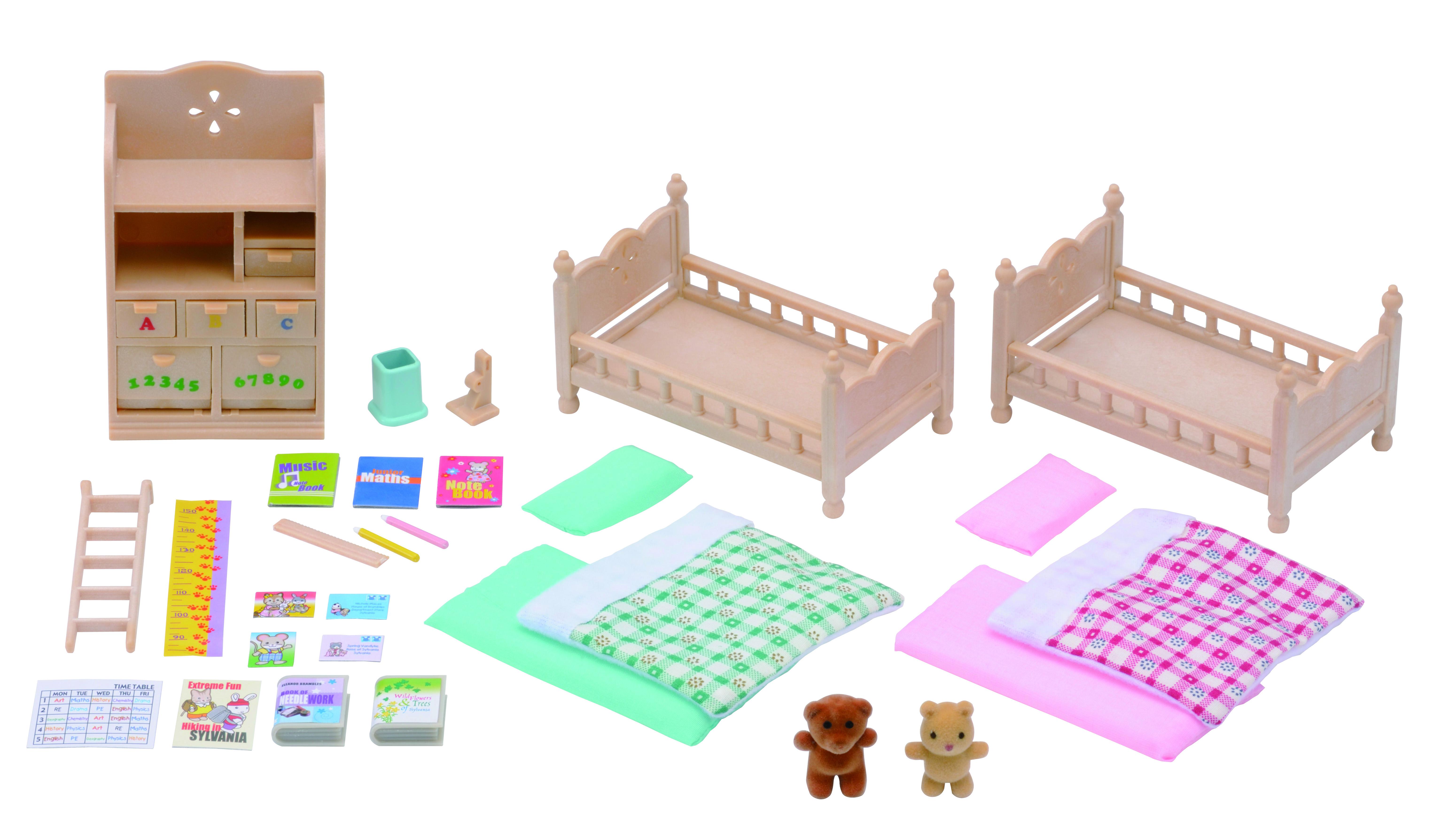 Игровой набор SYLVANIAN FAMILIES Детская комната игровой набор детская комната sylvanian families