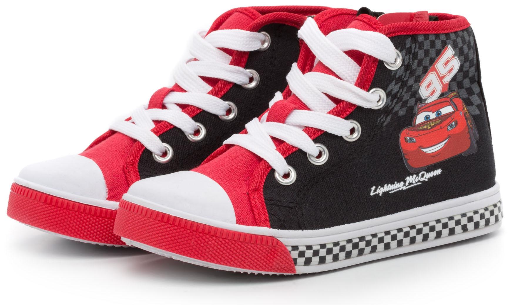 все цены на Кроссовки и кеды DISNEY CARS 2 Ботинки для мальчика Disney cars 2, черно-красные