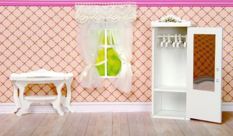 Игровой набор ЯиГрушка Прованс шкаф и консоль