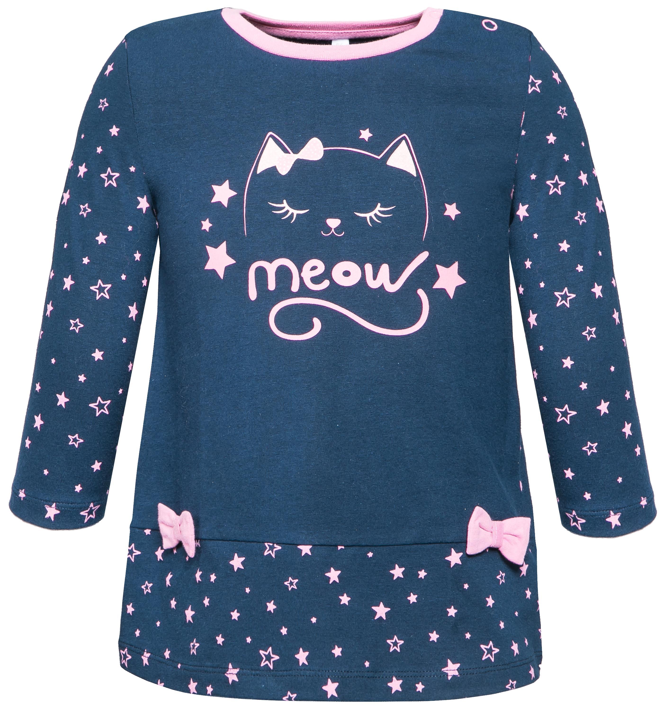 Платья Barkito Платье детское Barkito Космические котики, темно-синее fox платье темно синее