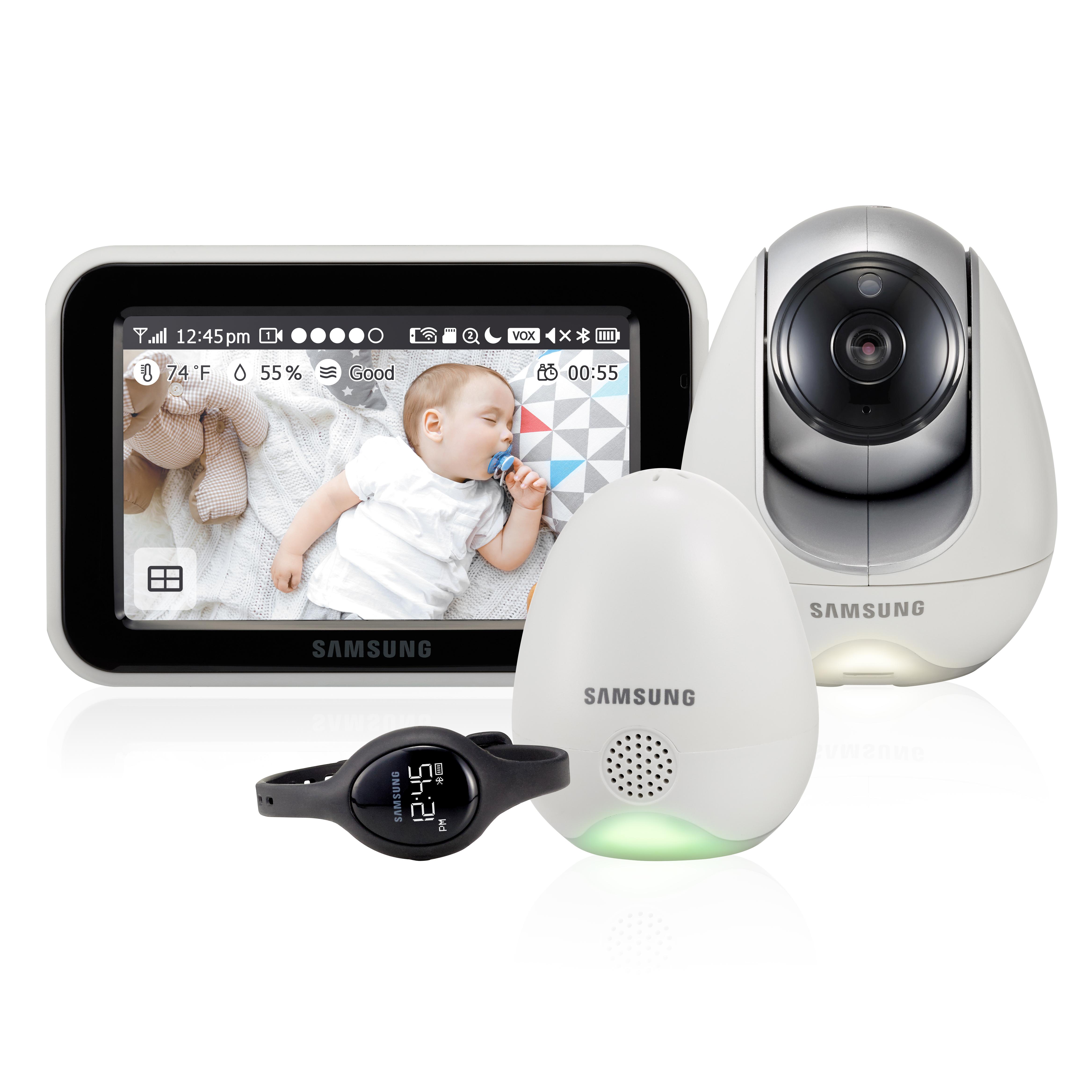 Радио и видеоняни Samsung SEW-3057WP видеоняня samsung samsung видеоняня sew 3043wpx2