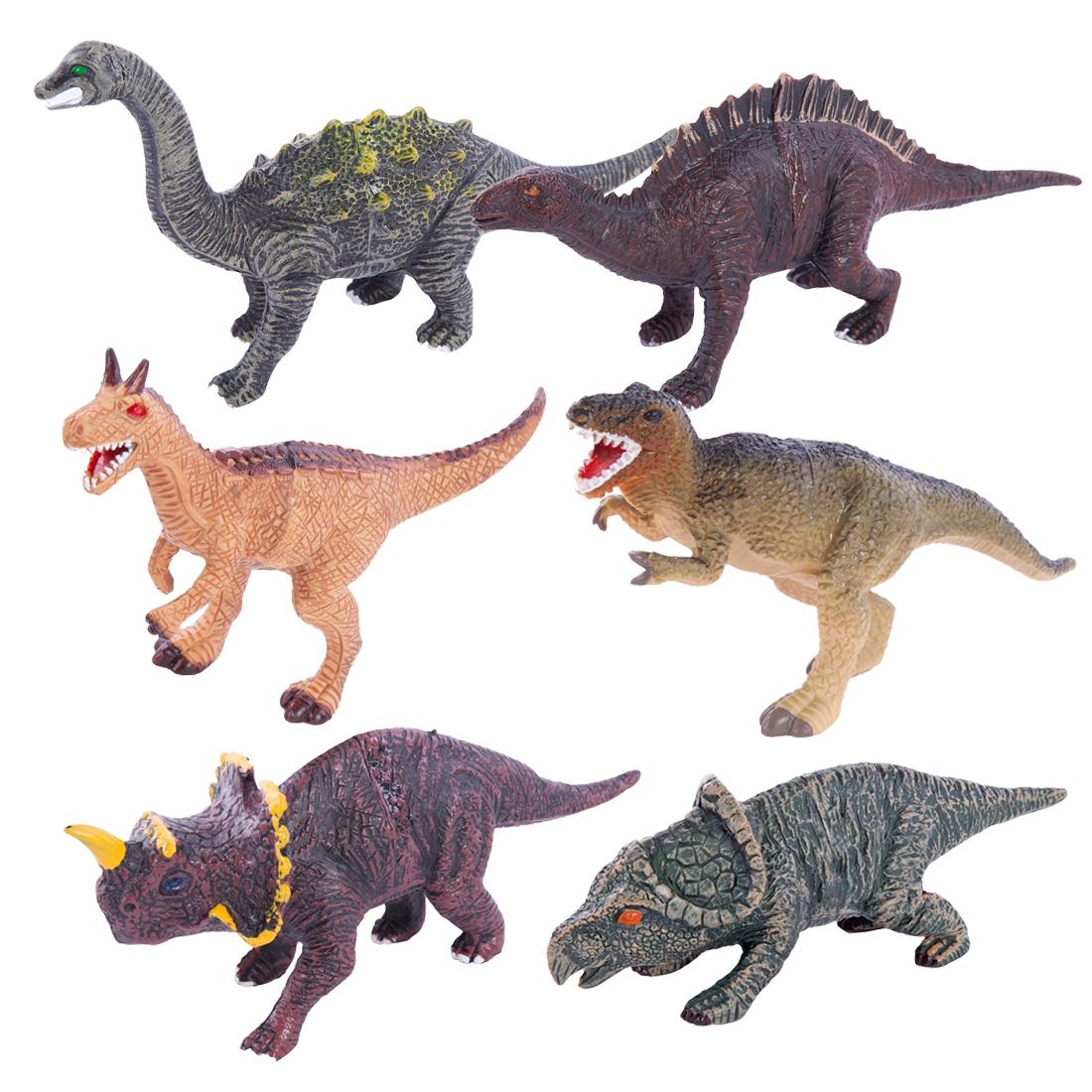 Фигурки животных Little Zu Динозавры в асс. набор фигурок little zu динозавры 90050в