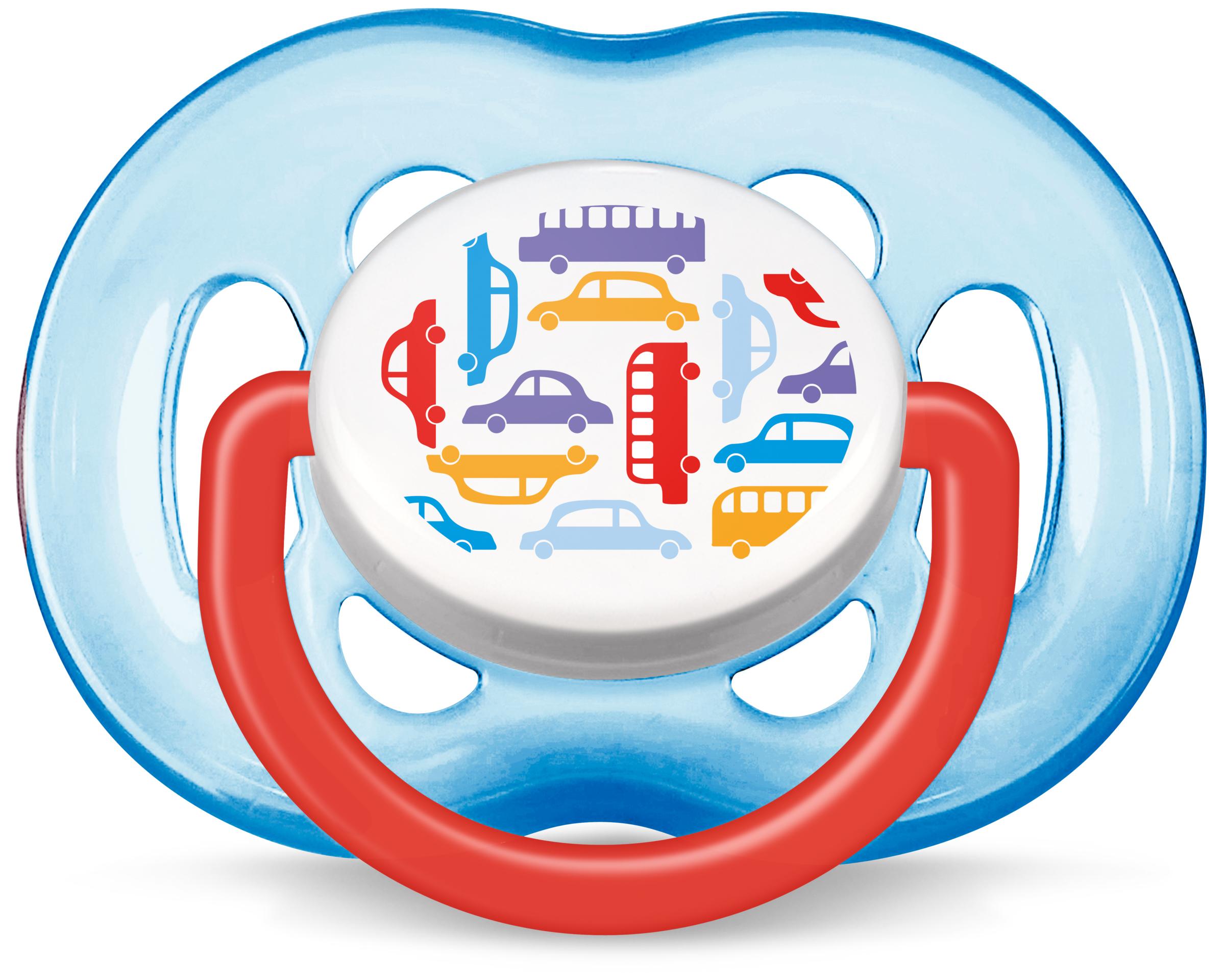 Пустышки Philips AVENT Freeflow силиконовая, ортодонтическая 6-18 мес. пустышки canpol силиконовая ортодонтическая 6 18 мес 22 501