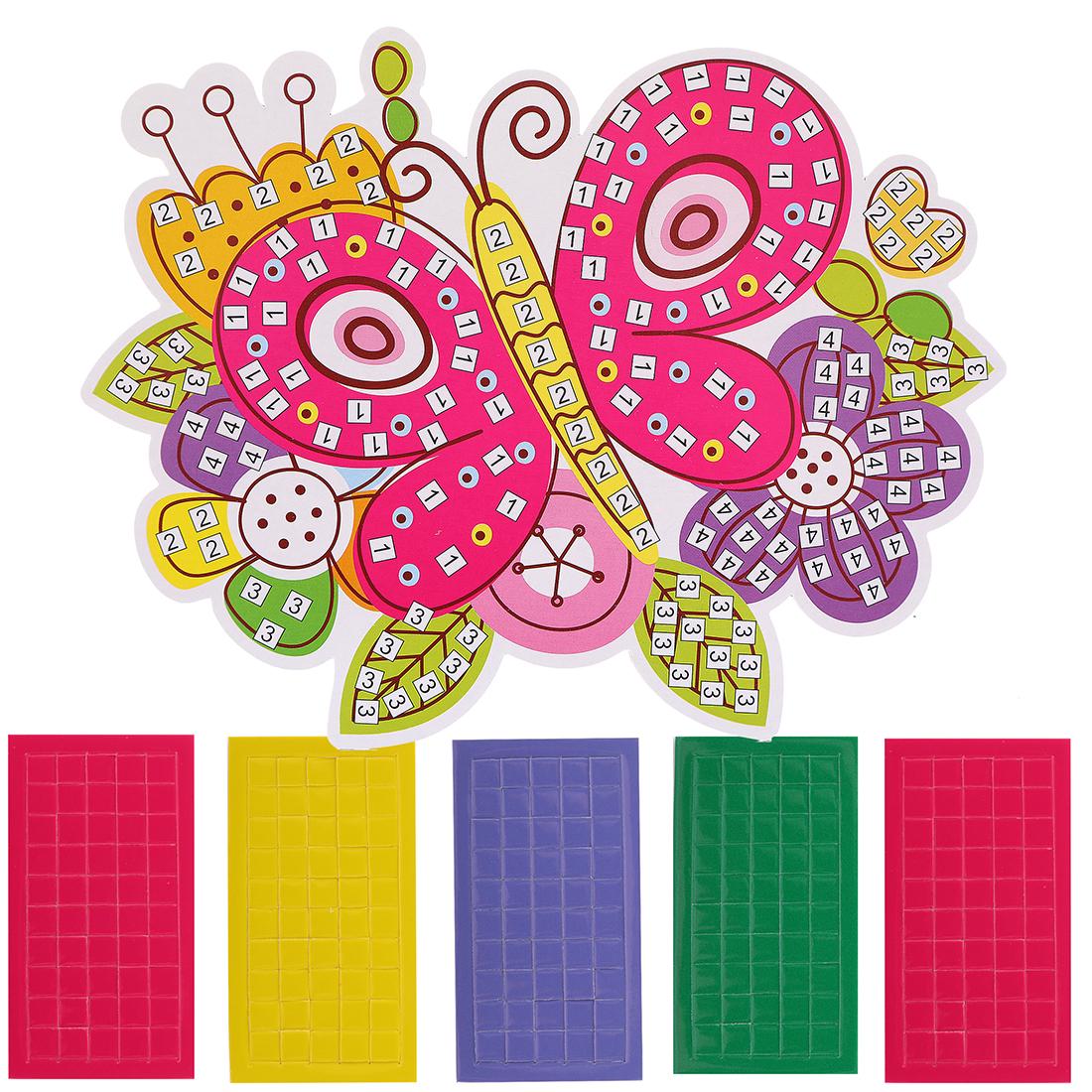Наборы для творчества Color Puppy Аппликация. Бабочка набор для детского творчества наша игрушка рукодельница бабочка
