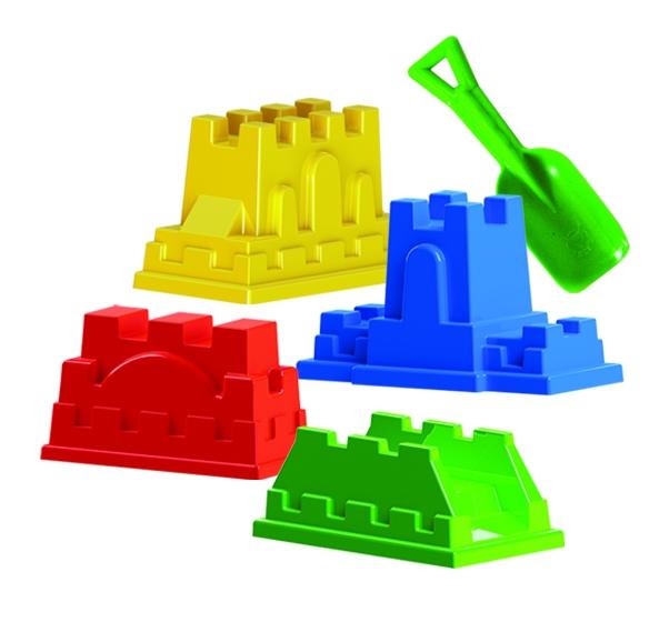 Набор Пластмастер Крепость с совочком формочки пластмастер африка