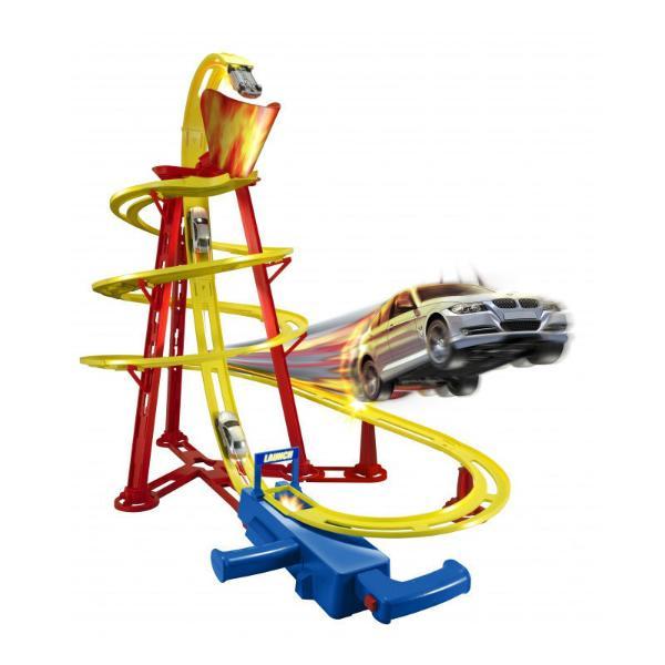 Автотрек HTI Вулкан треки hti автотрек hti teamsterz динозавр велоцераптор с 1 машинкой и пусковой установкой