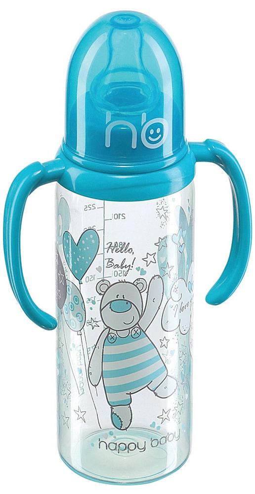 Бутылочки Happy baby с рождения 250 мл бутылочки пома для кормления с ручками 250 мл