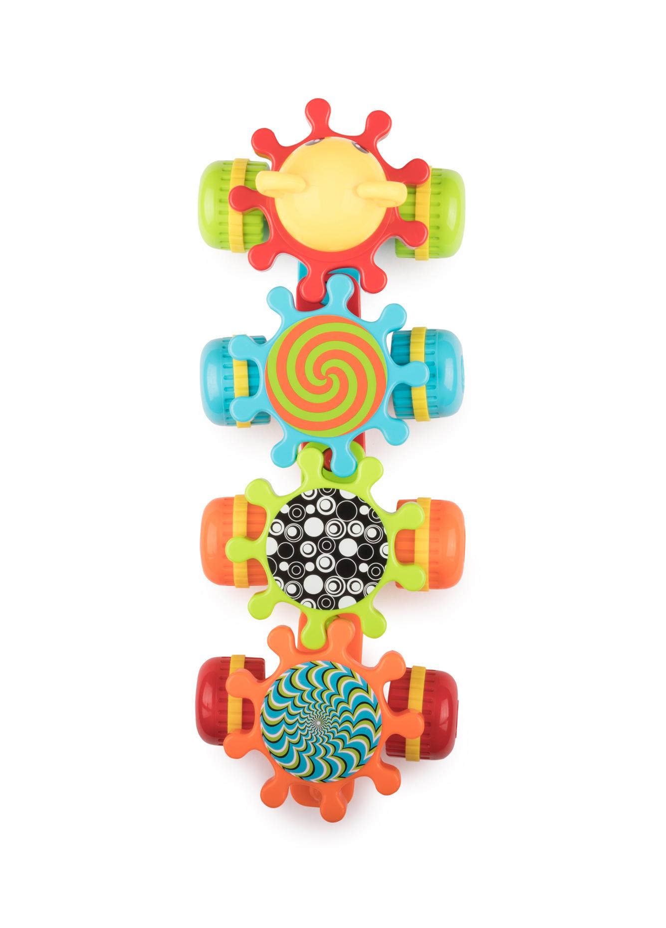 Обучающие Happy baby Развивающая игрушка Happy Baby «Mechanix Train» обучающие happy baby развивающая игрушка happy baby mechanix train