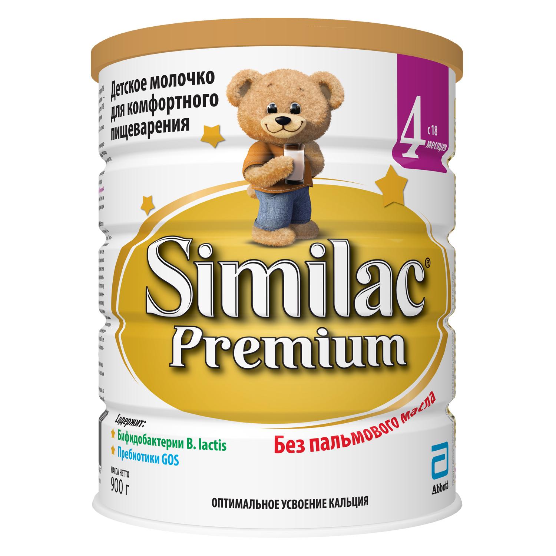 Similac (Abbott) Premium 4 (с 18 месяцев) 900 г 6S73924152