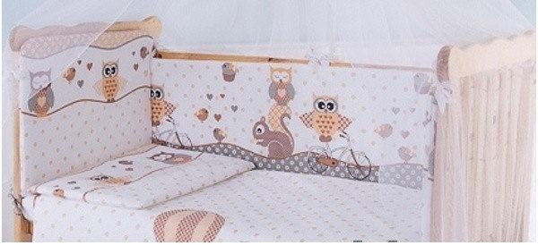 Постельное белье для малышей Луняшки Совы