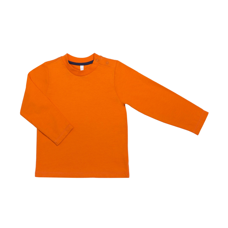 Футболки Barkito Футболка с длинным рукавом для мальчика Barkito В путь 1, оранжевая футболки barkito футболка с длинным рукавом для мальчика barkito монстр трак синяя