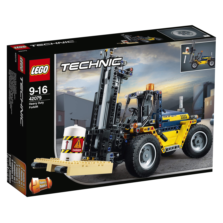 Конструктор LEGO Technic 42079 Сверхмощный вилочный погрузчик lego technic 42079 конструктор лего техник сверхмощный вилочный погрузчик
