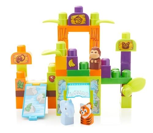 конструктор Mega Bloks Зоопарк друзей с сафари mattel констурктор mega bloks зоопарк сафари
