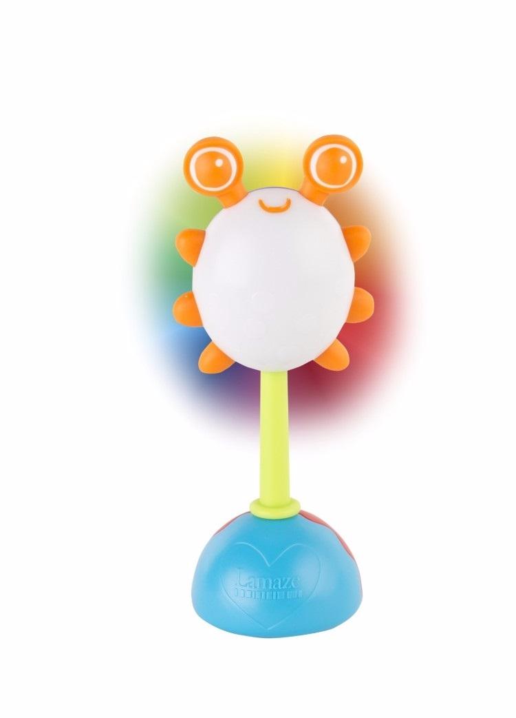 Погремушка LAMAZE Жучок развивающие игрушки lamaze дракончик флип флап