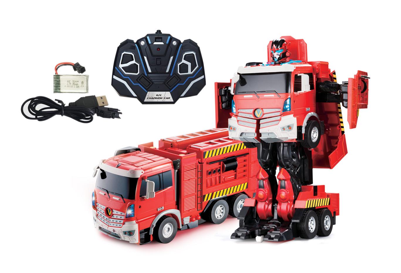Робот-трансформер р/у 1toy Грузовик грузовик play smart трансформер fullfunk на р у 9200