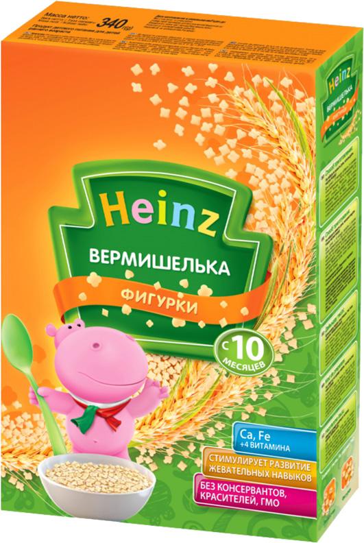 Вермишель Heinz Фигурки с 10 мес. 340 г.