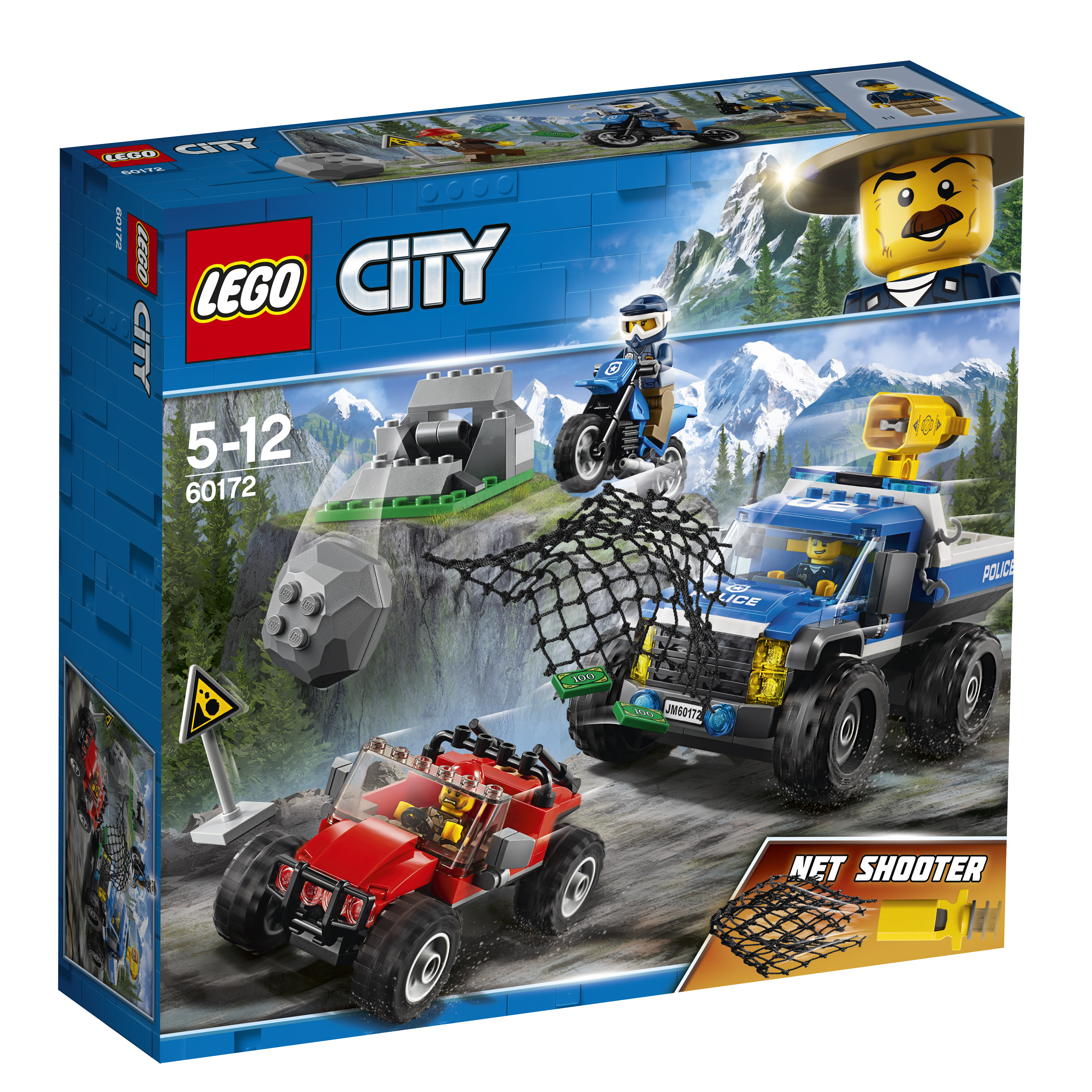Конструктор LEGO City Police 60172 Погоня по грунтовой дороге free shipping c7769 60384 c7769 60172 drive roller encoder sensor for hp500 800 designjet plotter parts
