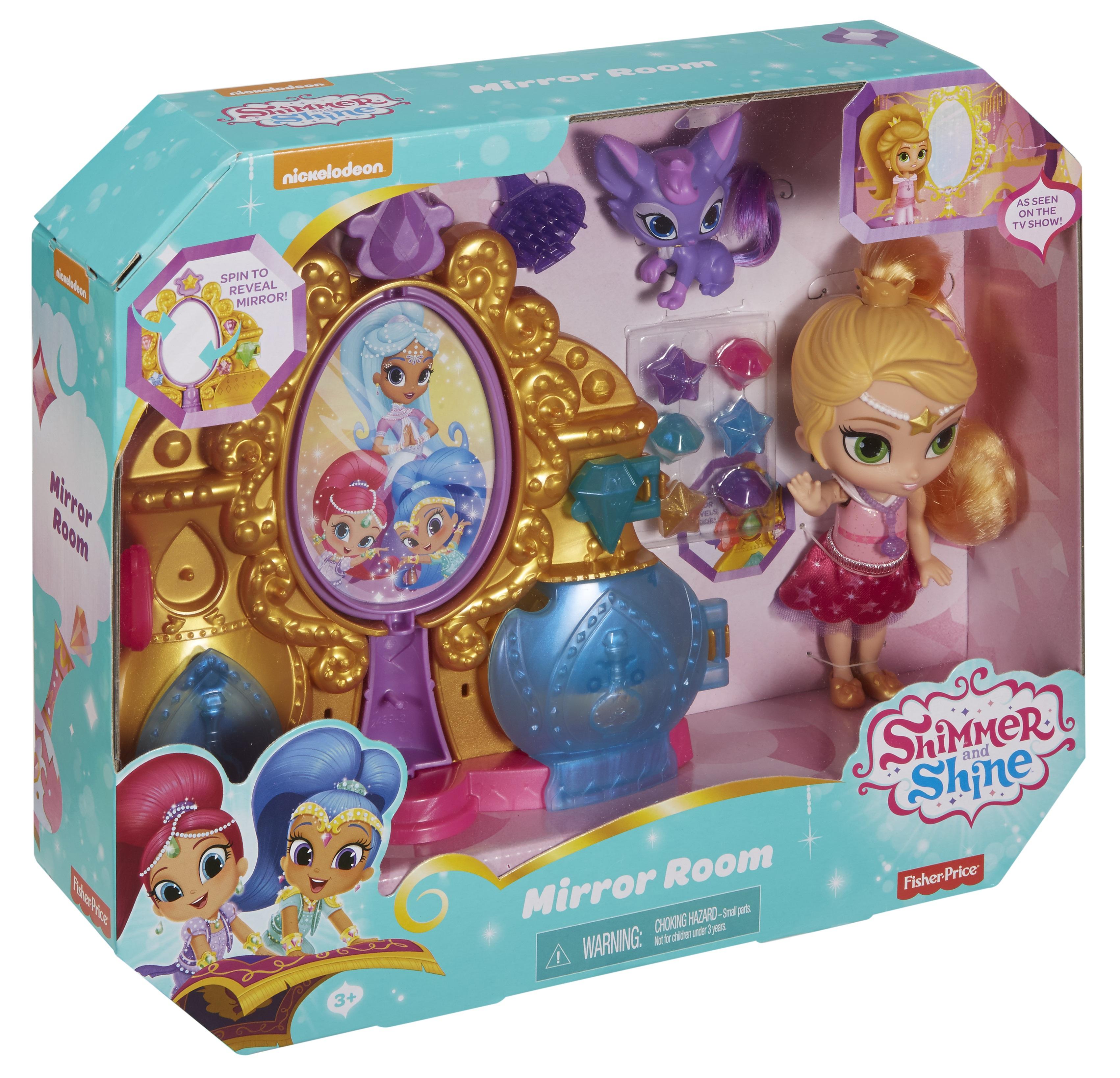 Другие куклы Shimmer&Shine Волшебная зеркальная комната игровой набор shimmer