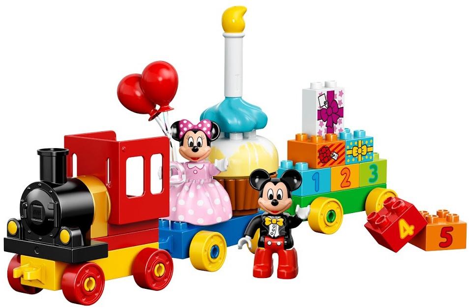 Конструктор LEGO Duplo День рождения с Микки и Минни (10597) lego duplo lego 10873 день рождения минни