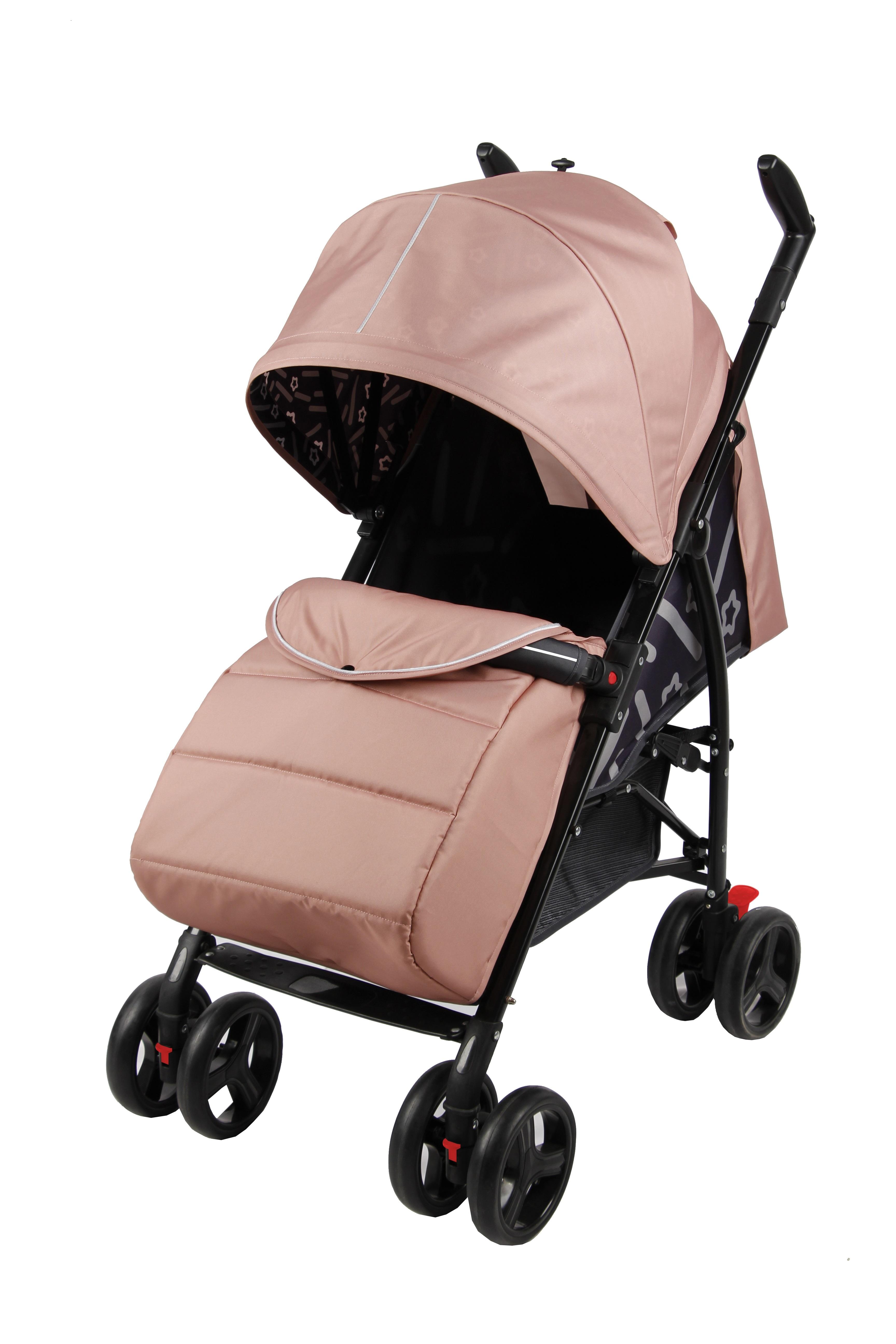 Прогулочная коляска Parusok Walker Pro розовый