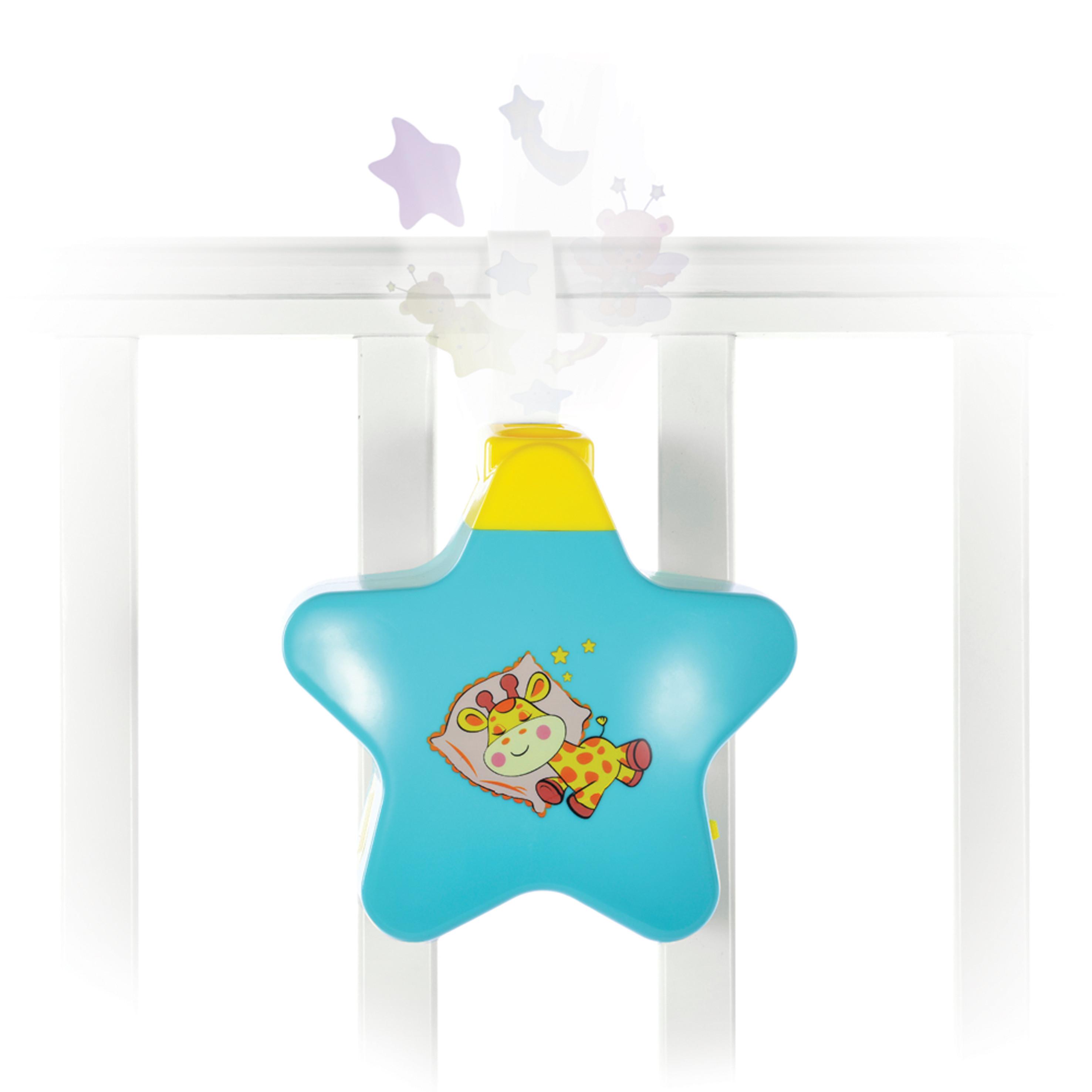 Ночник Наша игрушка Звездочка с проектором
