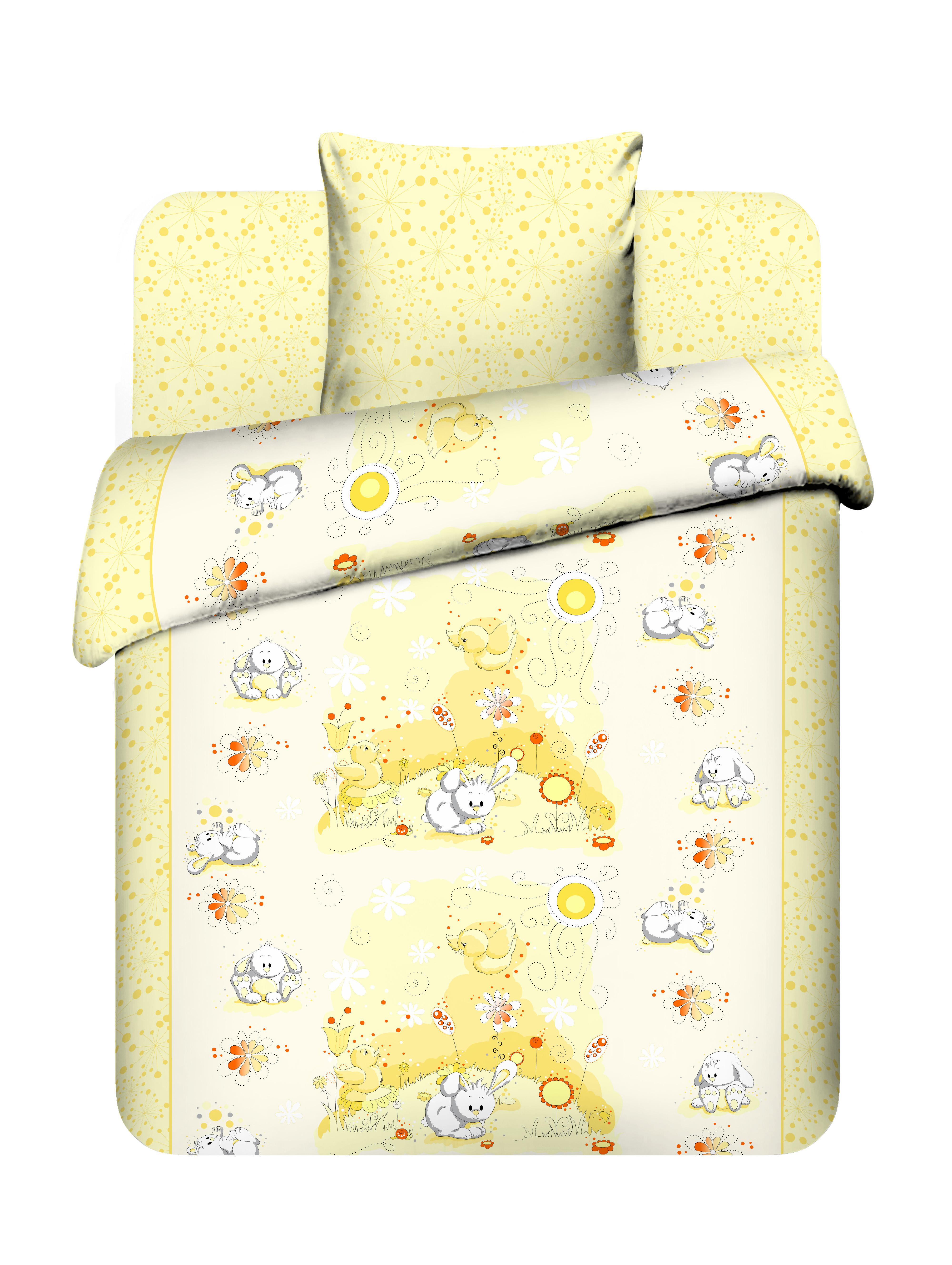 Постельное белье для малышей Василек Плюшевый зайчик