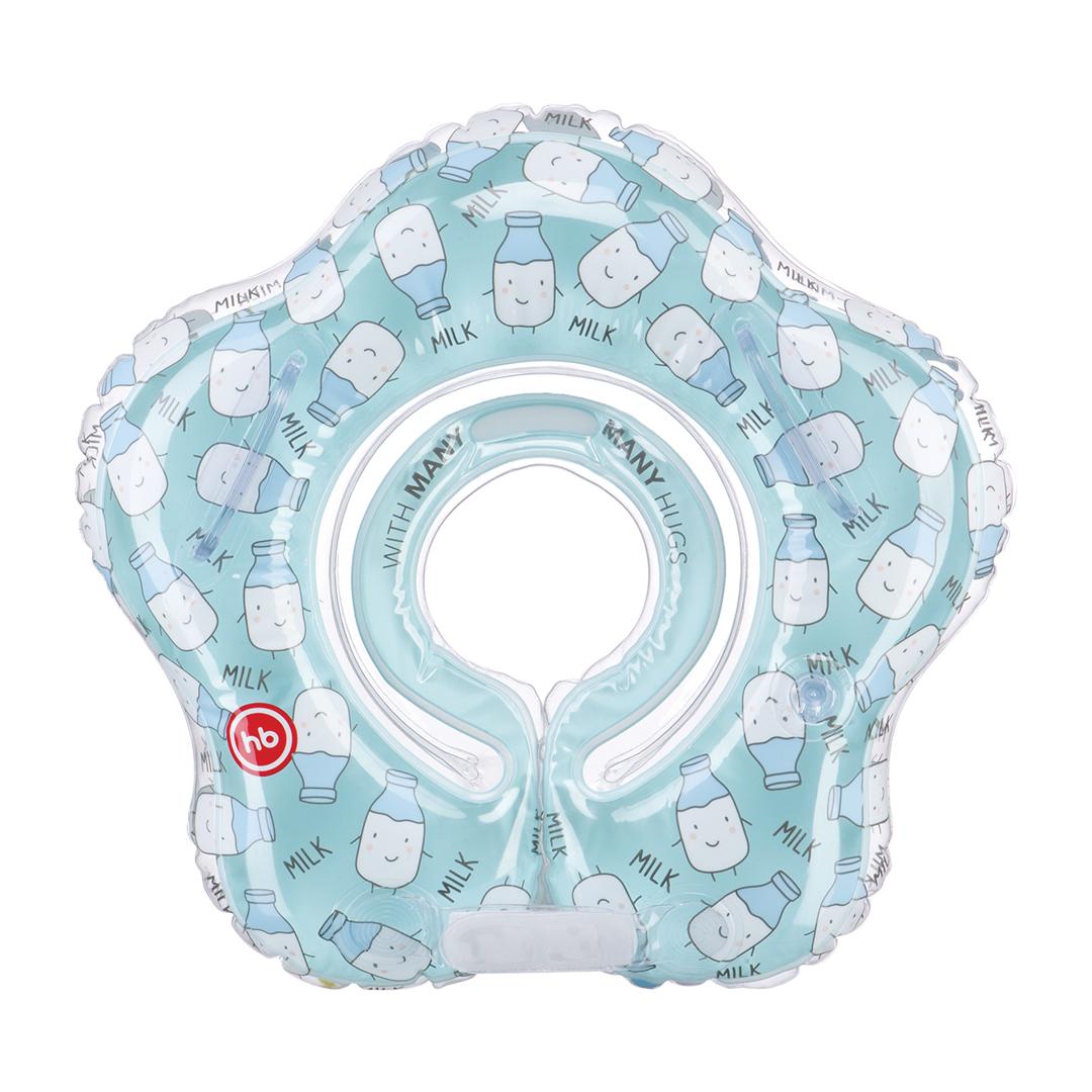 Круги на шею для купания малышей Happy baby milk
