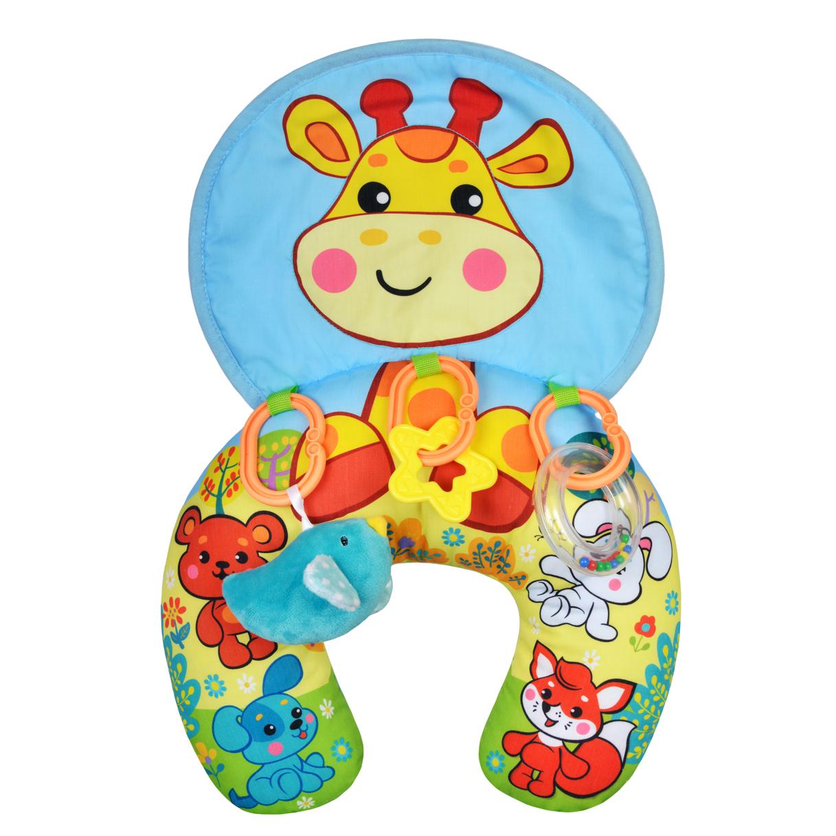 Коврик-подушка Наша игрушка Веселый Жирафик