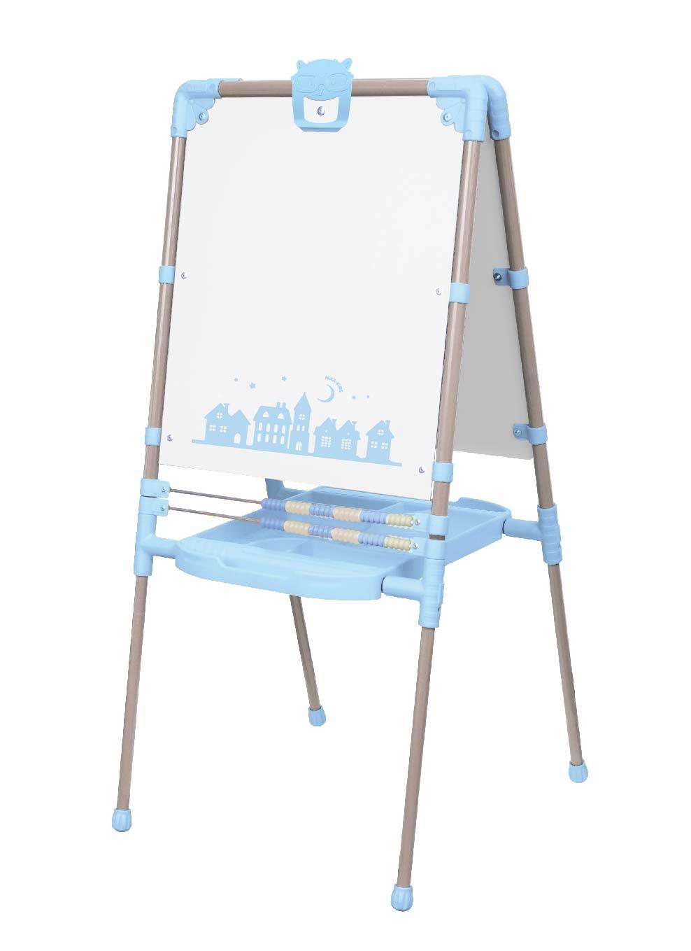 Мольберт Nika «Ретро» двусторонний голубой доски мольберты холсты для рисования nika мольберт двусторонний