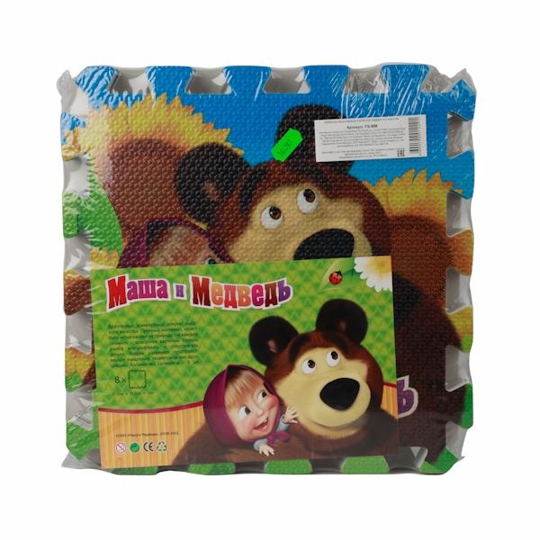 Коврик-пазл Играем вместе Маша и Медведь 164797