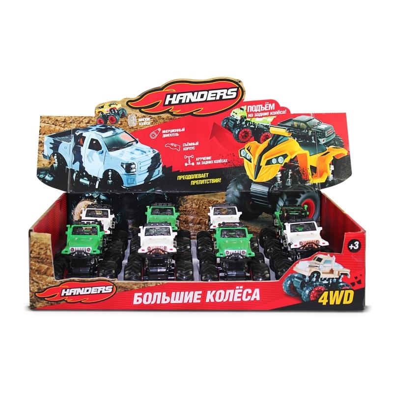 Инерционная игрушка Handers Большие колёса: кантри