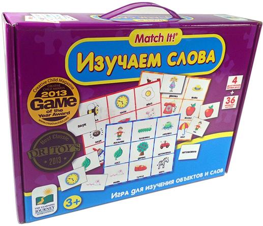 Пазлы Learning Journey Изучаем слова - Игра для изучения объектов и слов
