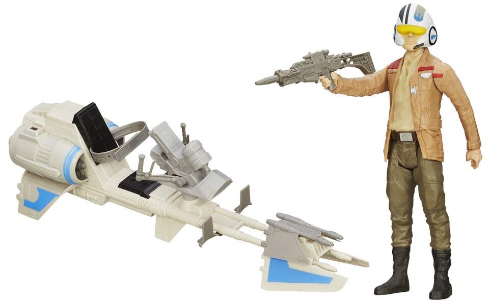 Star Wars STAR WARS Фигурки Титаны «Герои Звездных войн» с транспортным средством игрушка hasbro star wars титаны герои звездных войн с аксессуарами b3914