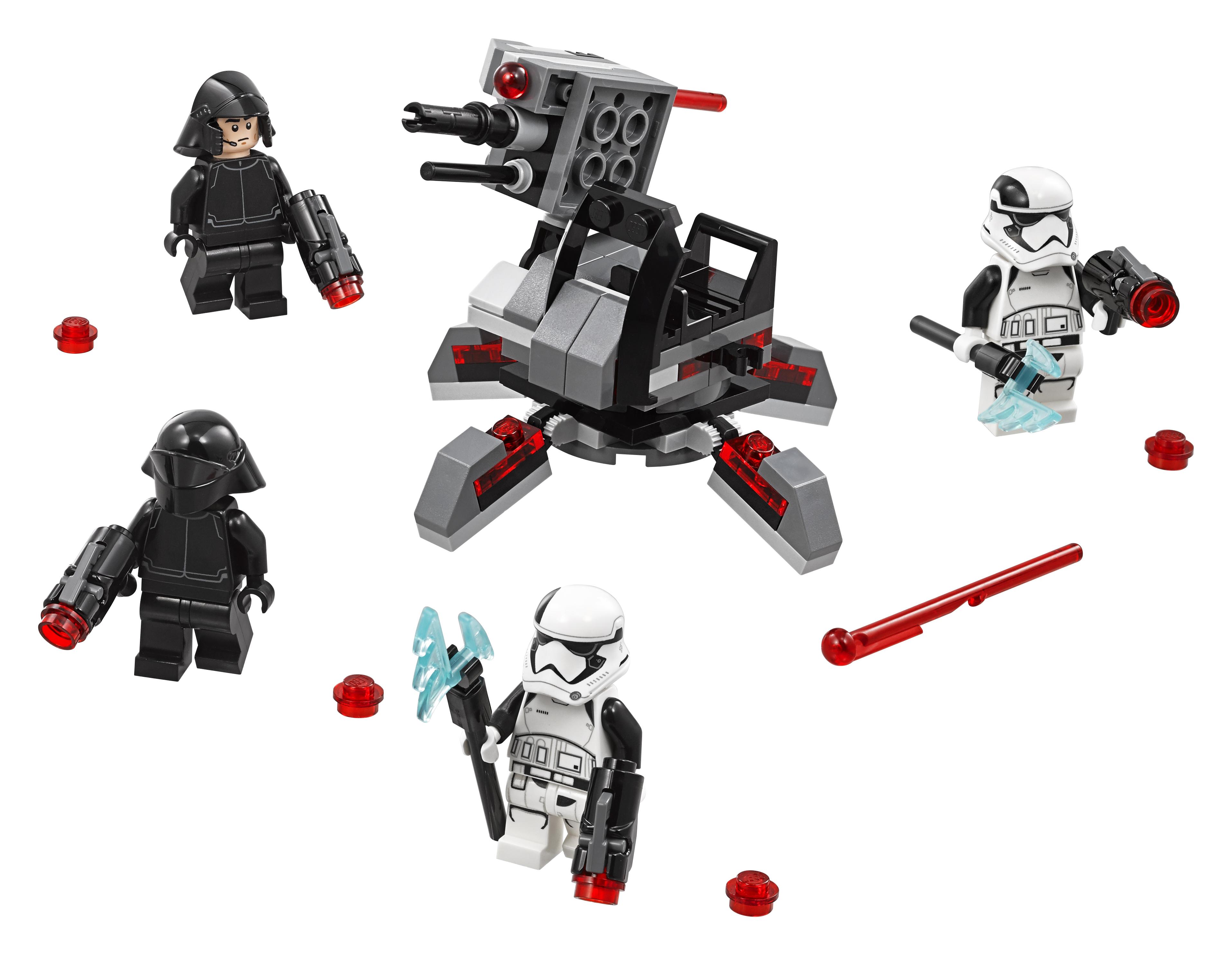 Конструктор LEGO 75197 Боевой набор специалистов Первого Ордена конструктор lego star wars боевой набор повстанцев 75164
