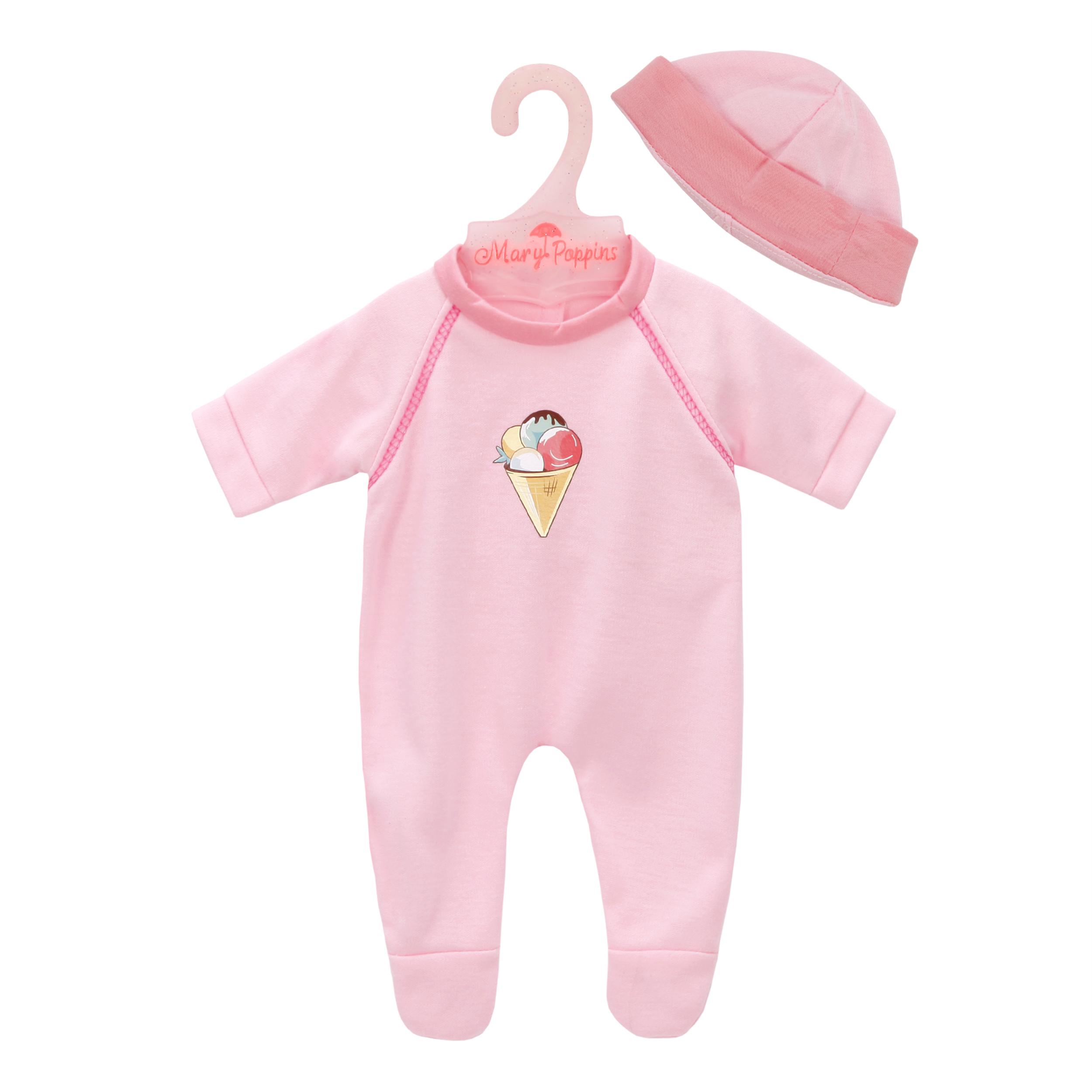 Одежда для кукол Mary Poppins Комбинезон с шапочкой. Карамель mary poppins одежда для кукол комбинезон и повязка